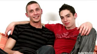 Two Skinny Gays Play With Dicks