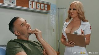 A Blowjob And Hard Fuck From The Doctor Will Cure Him