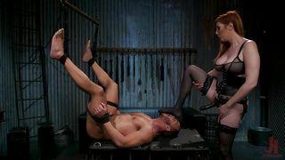 Vengeful Mistress Will Punish Her Sex Slave