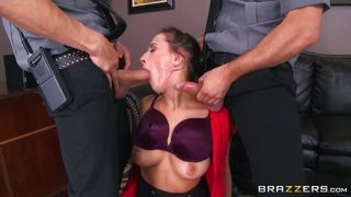 Ashley Handles Two Disgruntled Guards