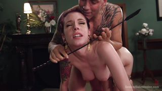 Submissive Slut Is Dominated By A Guy With Huge Cock