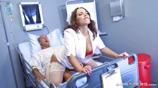Seductive Nurse Fucks Her Patient