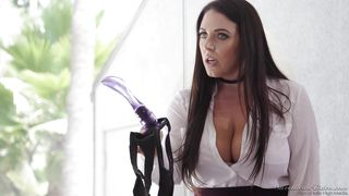 A Sex Toy Deep In Her Ass  Lesbian Strap-on Bosses #02