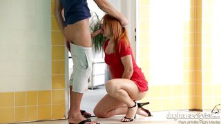 Milf Gives A Blowjob And Takes A Creampie  Milf Creampies #02