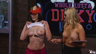 Topless Bitches Entertain The Audience