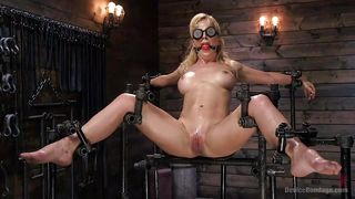 Hard Metal Bondage For Cherie Deville