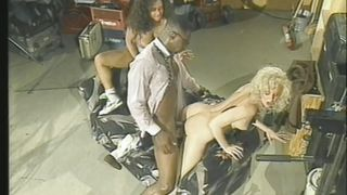 Two Lustful Hotties Take On A Black Cock!