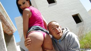 Gorgeous Ass Babe Fucked In Public