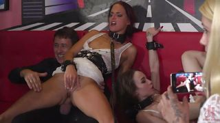 Sexy Beauties Are Bound, Fucked, & Humiliated In Public