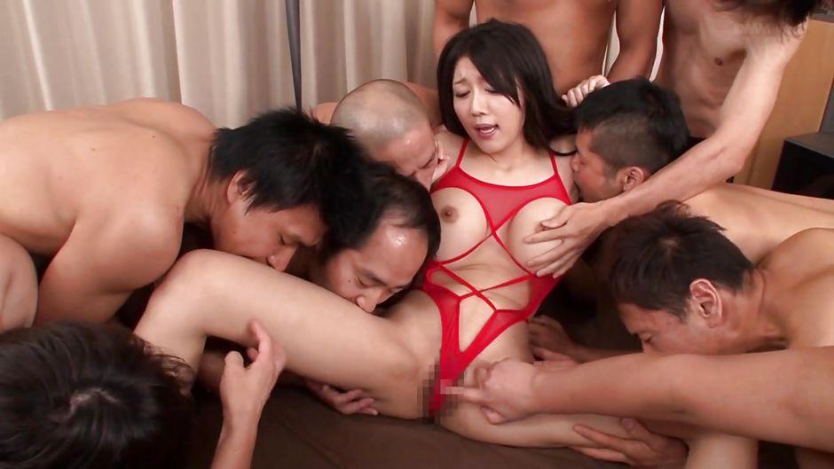 Японское Групповое Порно 720