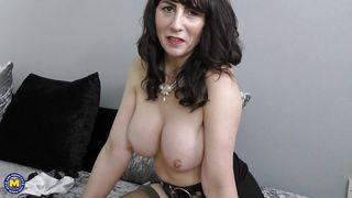 Mature Nl-Mature Lady Masturbates PornZek.Com