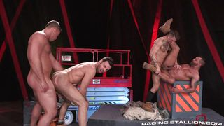 Hardcore Gay Anal Sex In The Hot House