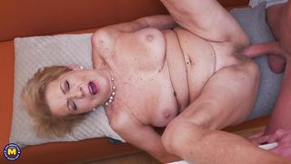 Busty Mature With A Hairy Pussy Gets Fucked By Her Neighbour